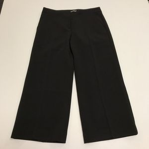 NWT Express Cropped Flared Pleated Trouser Pants 4